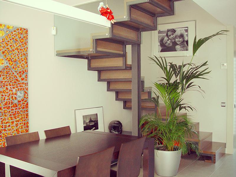 Altillos y escaleras